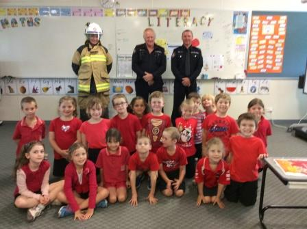 Year 1 Fire Brigade Visit